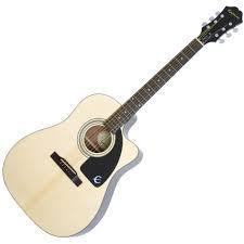 Гитара акустическая Epiphone AJ-100CE (Passive) Natural