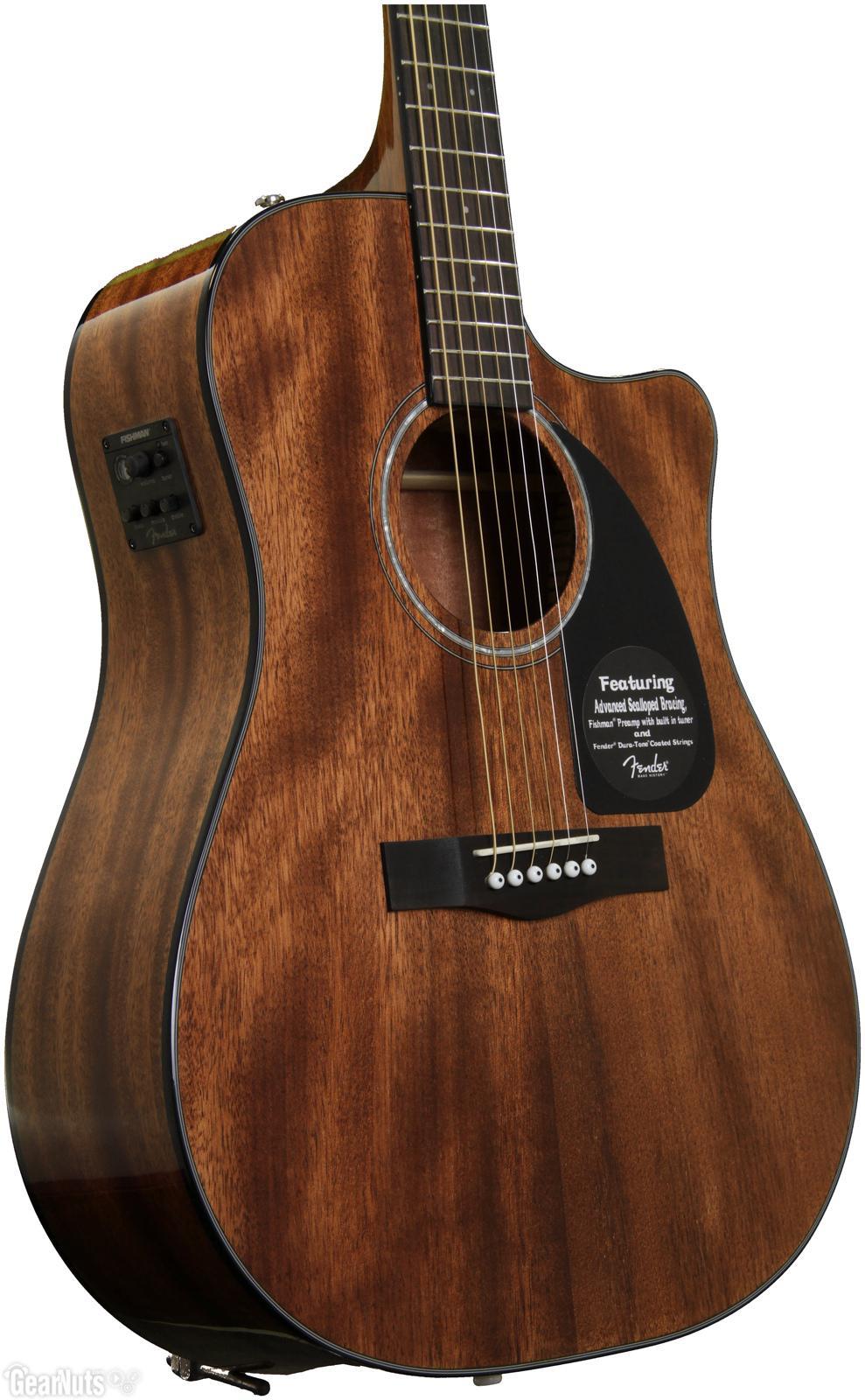 Гитара акустическая Fender CD-60 All Mahogany Dreadnought (Natural)