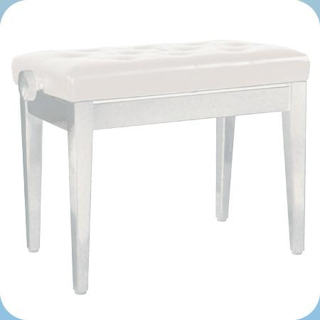Банкетка для фортепиано ForteStyle White