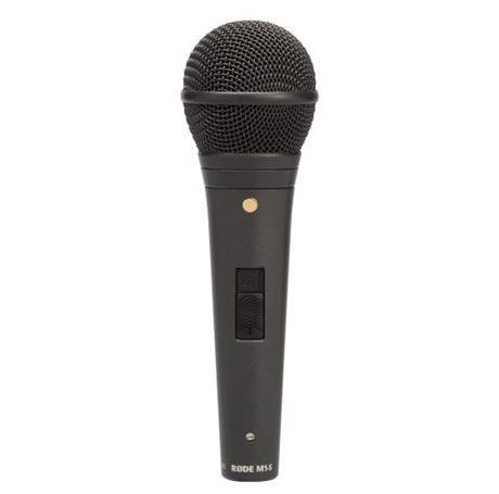 Концертный динамический микрофон с выключателем RODE M1-S