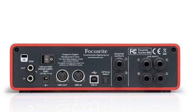 Звуковая карта Focusrite Scarlett 18i8