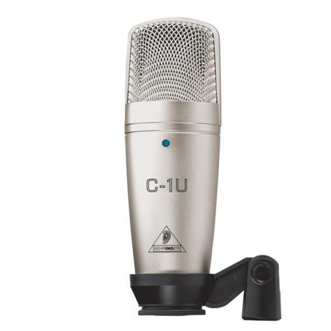 Студийный конденсаторный микрофон BEHRINGER C-1U