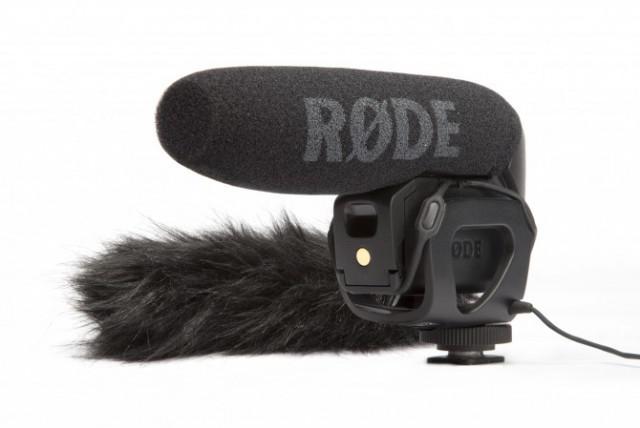 Компактный накамерный микрофон-пушка Rode VideoMic Pro