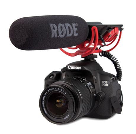 Профессиональный конденсаторный микрофон-пушка Rode VideoMic Rycote