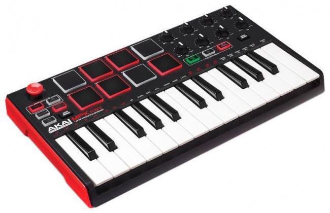 Midi-клавиатура AKAI PRO MPK MINI MK2 USB