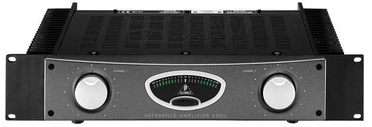 Behringer A 500 REFERENCE AMPLIFIER Референсный студийный усилитель мощности