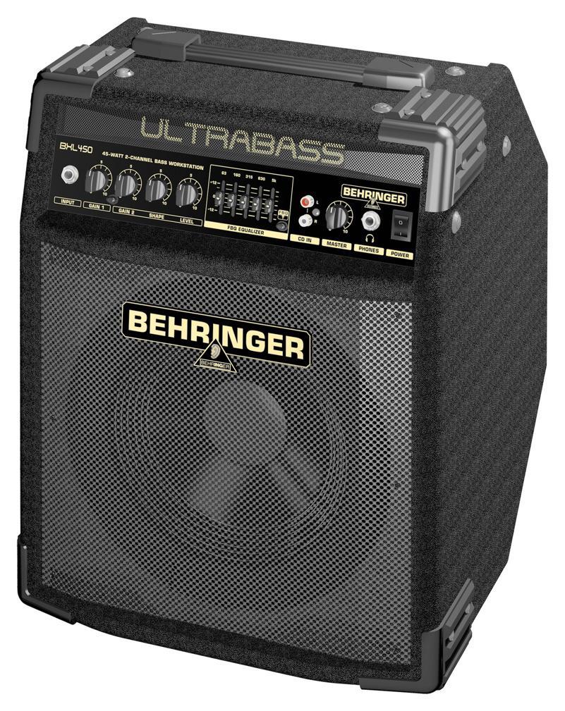 Behringer BXL 450 ULTRABASS 45-ваттная 2-х канальная басовая рабочая станция с 10