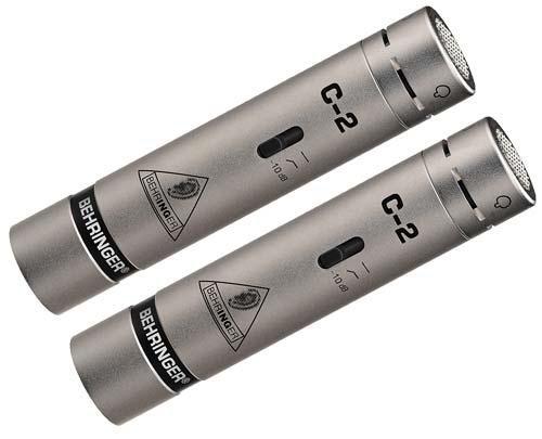 Behringer C-2 STUDIO CONDENSER MICROPHONES Комплект из 2-х кардиоид. конденсат. микрофонов