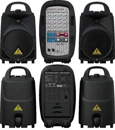 Behringer EPA 300 EUROPORT - система звукоусиления