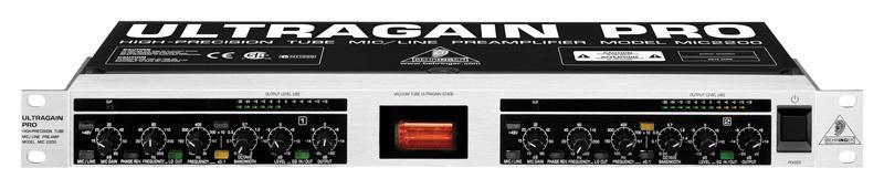 Behringer MIC 2200 Ultragain Pro Предусилитель микрофонный