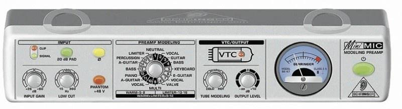 Behringer MIC 800 MiniMIC Предусилитель микрофонный