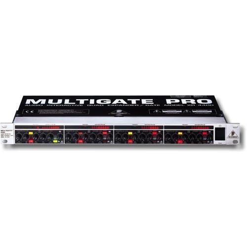 Behringer MULTIGATE PRO XR4400 - 4-канальный частотно-зависимый экспандер/гейт