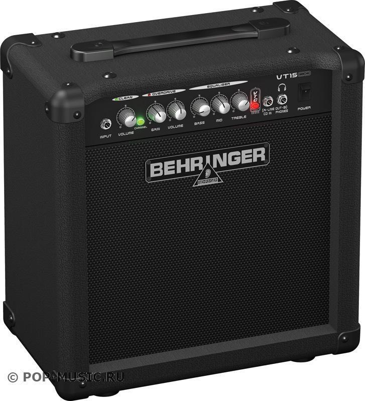 Behringer VT 15CD VIRTUBE гитарный комбоусилитель