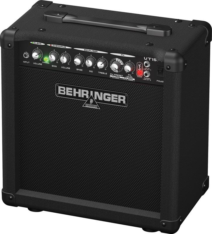 Behringer VT 15FX VIRTUBE гитарный комбоусилитель