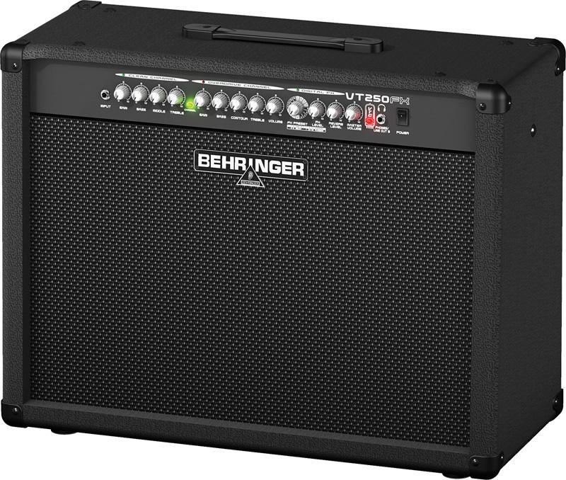Behringer VT 250FX VIRTUBE Гитарный усилитель combo, 2 х 50 Вт