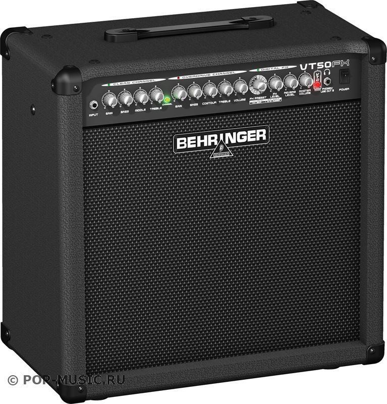 Behringer VT 50FX VIRTUBE гитарный комбоусилитель