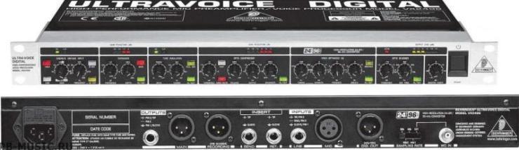 Behringer VX 2496 ULTRA-VOICE PRO Предусилитель микрофонный
