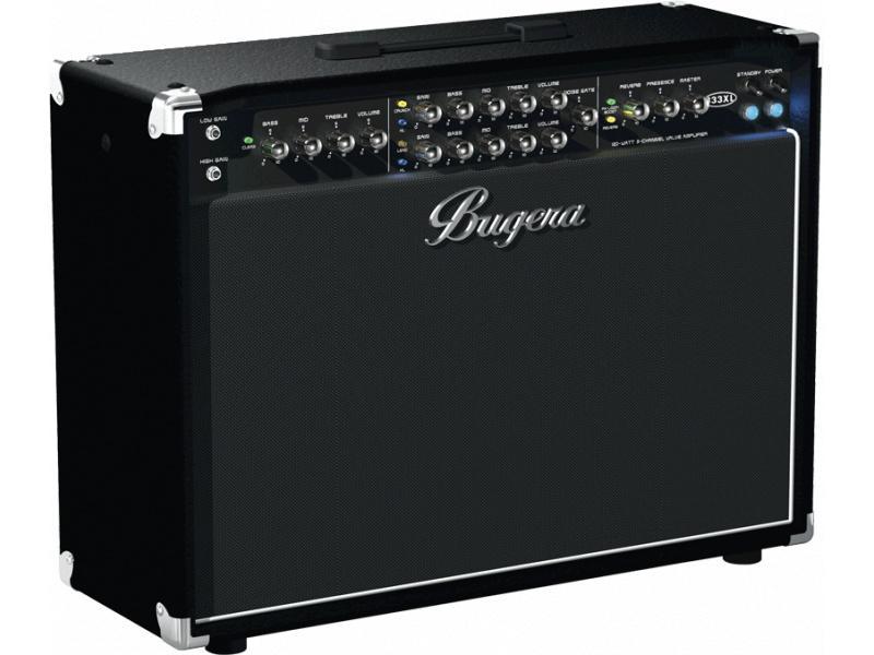 Bugera 333XL-212 ламповый гитарный усилитель combo 120 Вт, 2 х 12