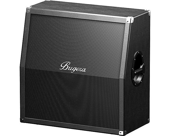 Bugera 412H-BK 200-ваттная гитарная моно/стерео акустическая система 4 х 12