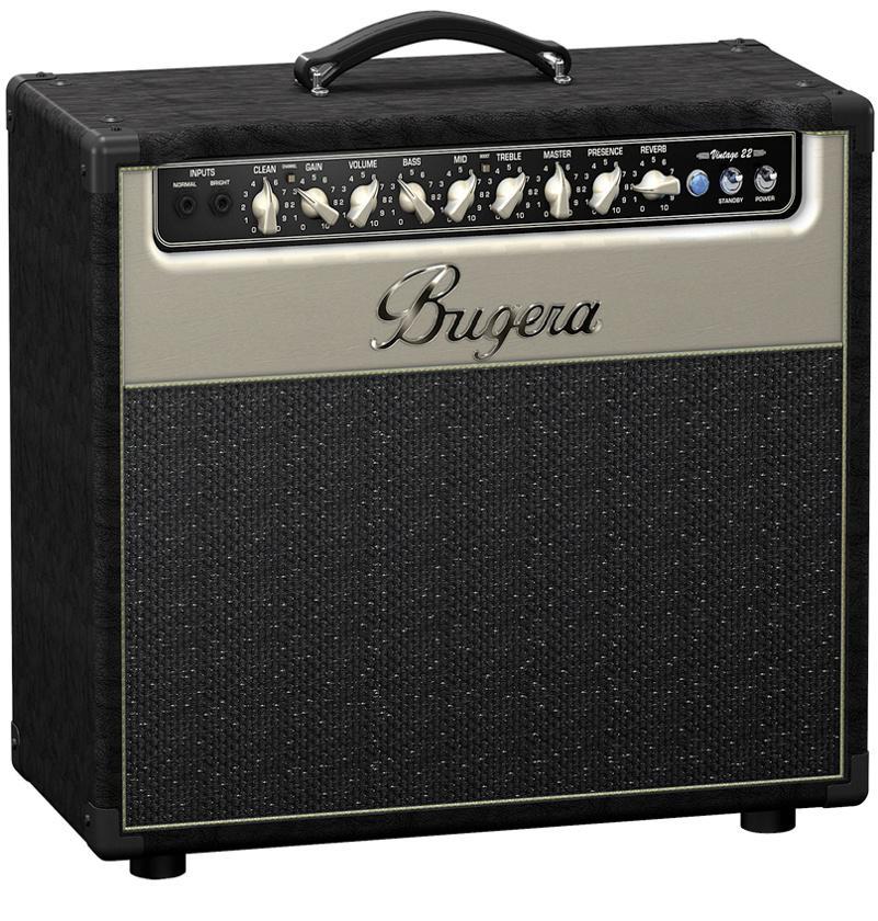 Bugera V22 Ламповый гитарный усилитель combo