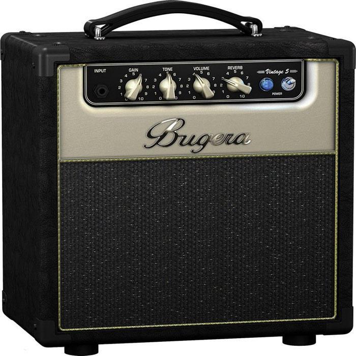 Bugera V5 Ламповый гитарный усилитель combo (класс A)