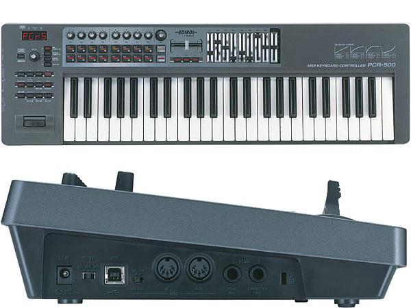 Edirol MIDI клавиатура PCR 500