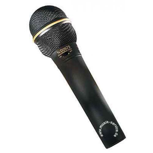 Electro-Voice N/D 267AS Динамический суперкардиодный вокальный микрофон