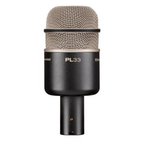 Electro-Voice PL33 Суперкардиодный динамический инструментальный микрофон для бас - барабана