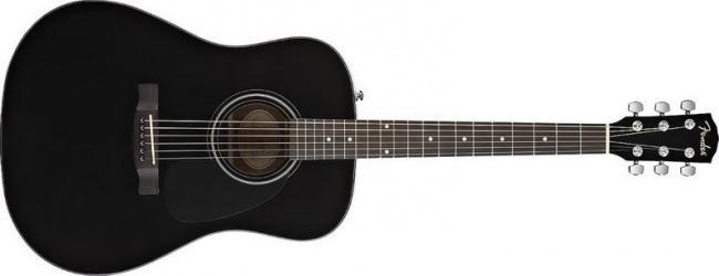 Гитара акустическая Fender CD-60 Dreadnought black