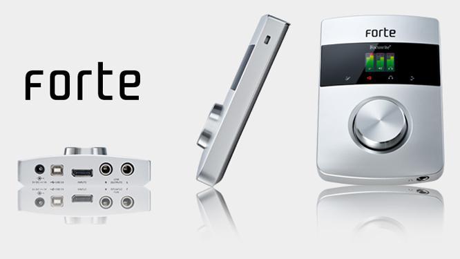 Звуковая карта Focusrite Forte USB
