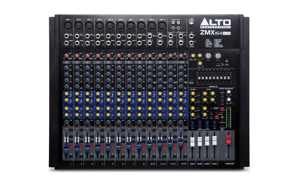 Микшерный пульт Alto ZMX164FX USB