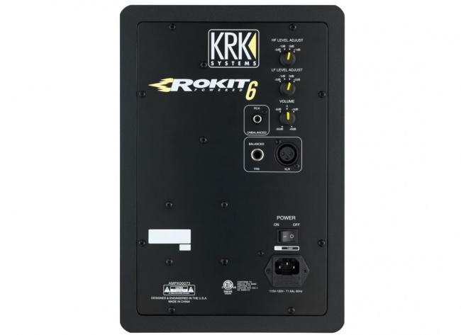 Студийный монитор KRK RP6G3