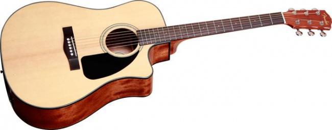 Гитара акустическая FENDER CD-60CE DREADNOUGHT NATURAL