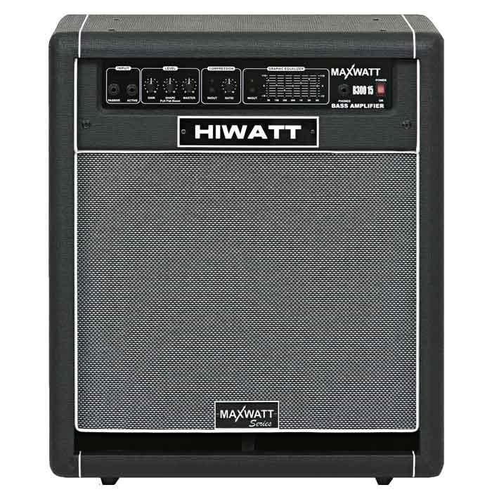 HIWATT B300 15 Mark II профессиональный басовый комбоусилитель