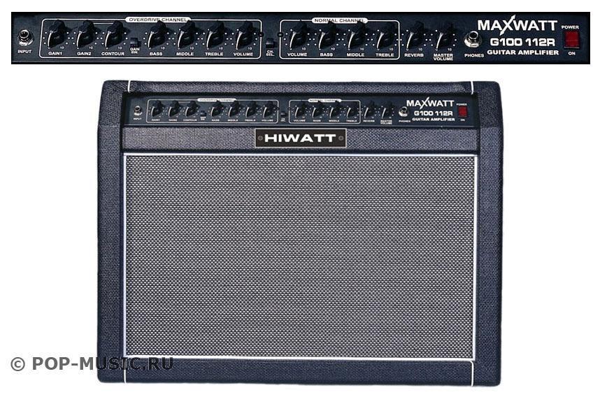 HIWATT G100/112R профессиональный комбоусилитель для электрогитары