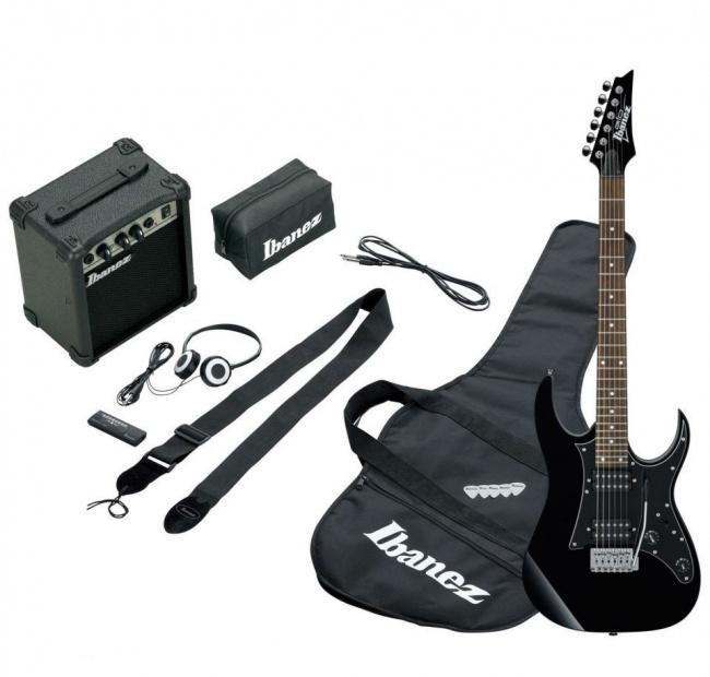 Гитара электро IBANEZ IJRG200U BLACK NEW JUMPSTART