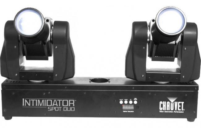 Интеллектуальное световое оборудование Chauvet Intim Spot Duo