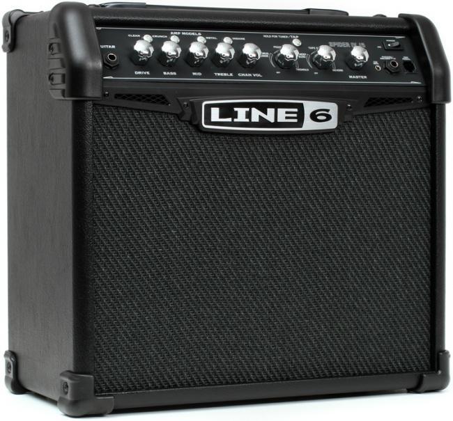 Комбоусилитель для электро гитар Line 6 Spider iv 15