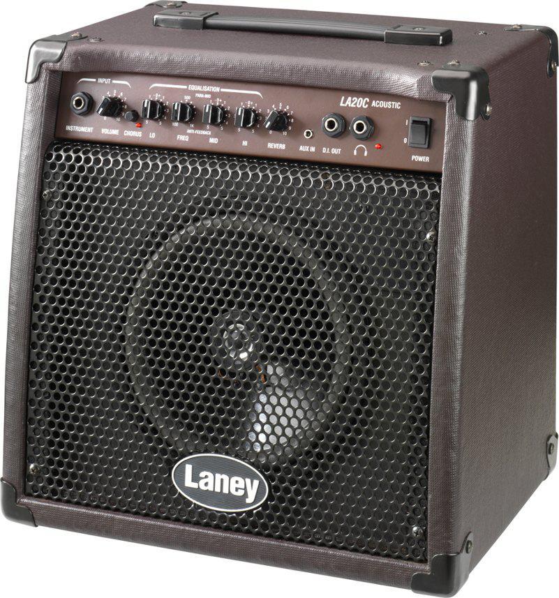 LANEY LA20C профессиональный комбоусилитель для акустических гитар