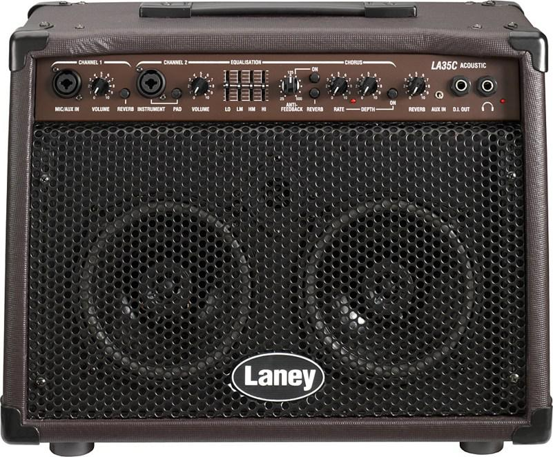LANEY LA35C профессиональный комбоусилитель для акустических гитар