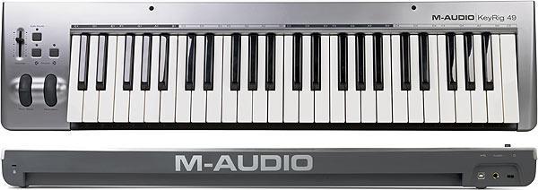 M-Audio KeyRig 49 MIDI клавиатура