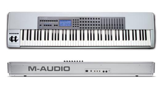 M-Audio Keystation Pro 88 MIDI клавиатура