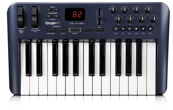 M-audio Oxygen 25 3RD GEN MIDI клавиатура