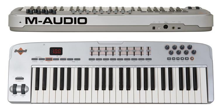 M-Audio Oxygen 49 MIDI клавиатура