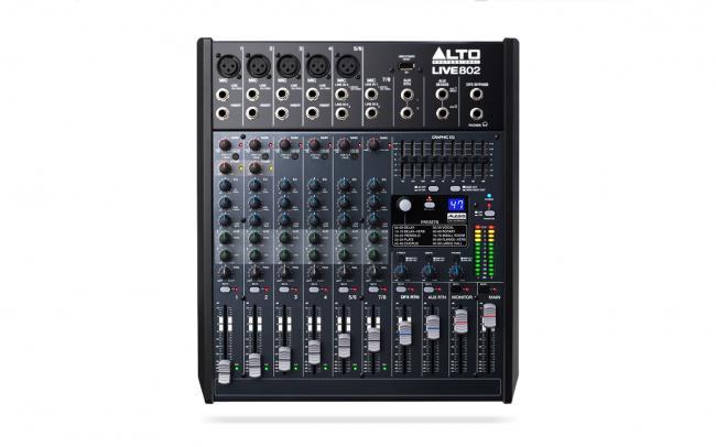 Микшерный пульт Alto live 802