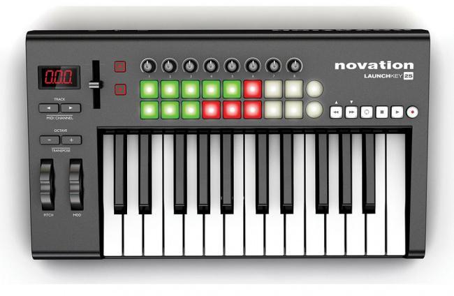 Midi-клавиатура Novation Launchkey 25
