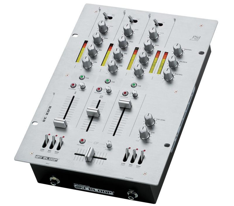 Профессиональный DJ - Микшерный Пульт Reloop RMX-30 BPM Black Fire Edition