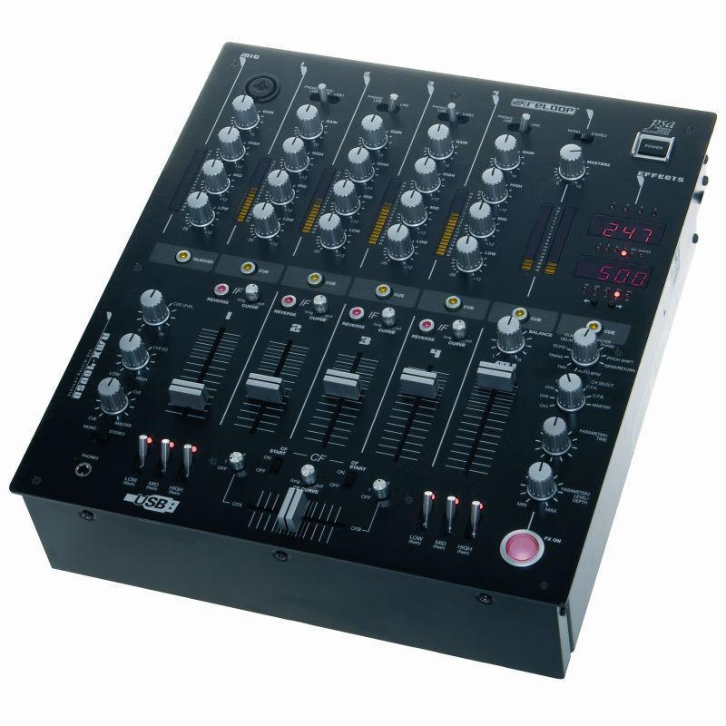 Профессиональный DJ - Микшерный Пульт Reloop RMX-40 BPM Black Fire Edition