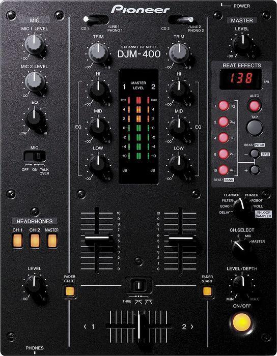 Профессиональный микшерный DJ пульт Pioneer DJM-400