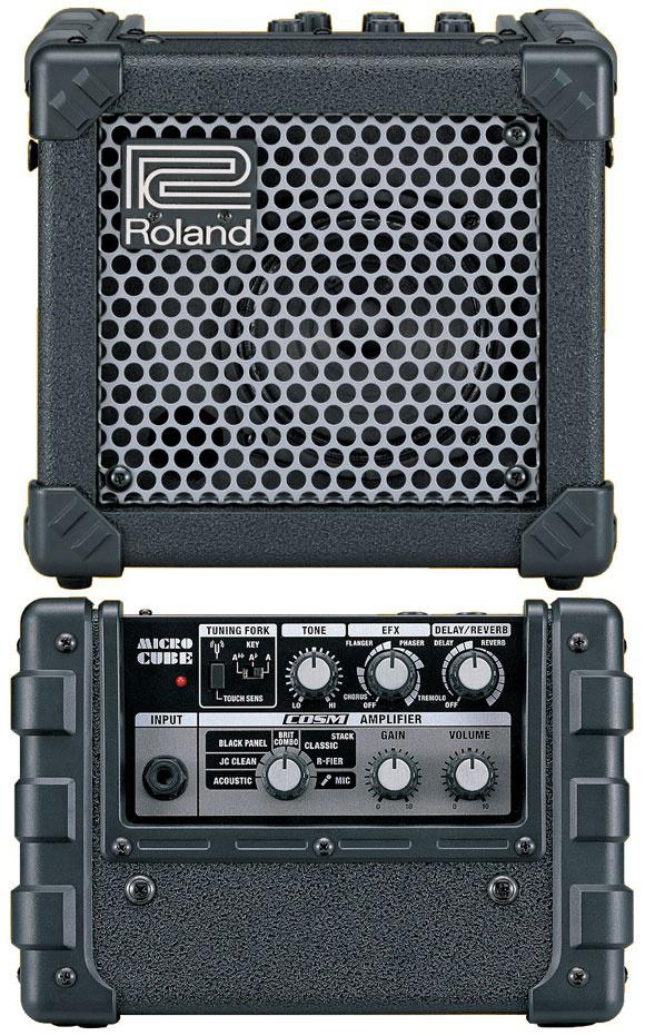 Roland Micro Cube комбоусилитель для электрогитары